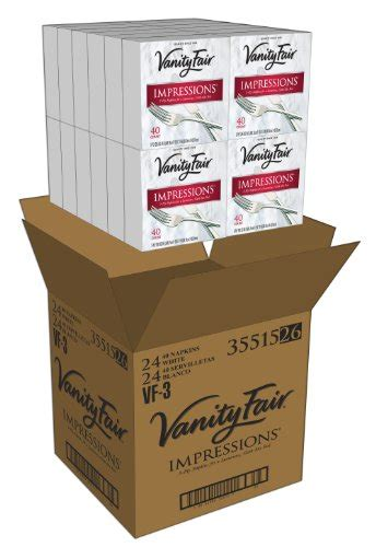vanity fair napkins vanity fair impressions dinner napkins 960 count paper
