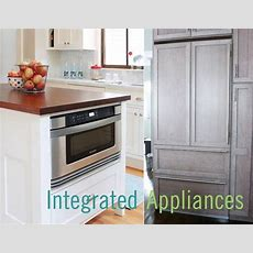 Five Reasons To Use Integrated Kitchen Appliances