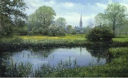 Salisbury Cathedral Mural Murals