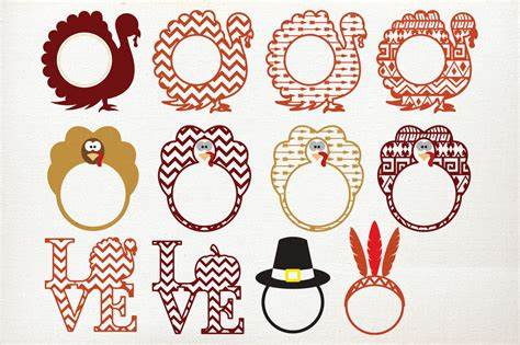 Thanksgiving svg files for silhouette, cricut, sizzix, pazzles, sure cuts a lot, and more. Thanksgiving svg projects, Turkey svg,fall svg, cricut ...