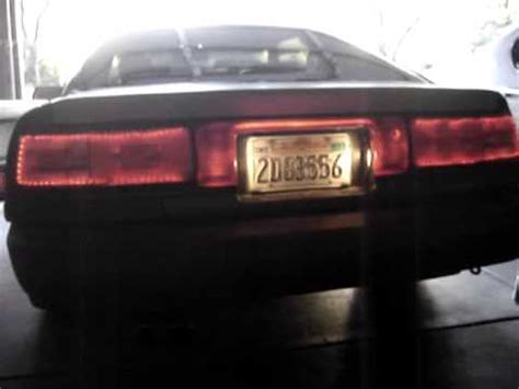 supra led tail lights mk3 supra tail light led glow 3 piece youtube