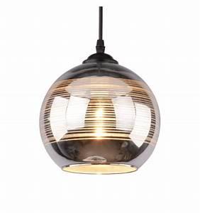 Suspension Luminaire En Verre Transparent : luminaire suspension en verre et chrome acheter lampe metropolis ~ Teatrodelosmanantiales.com Idées de Décoration