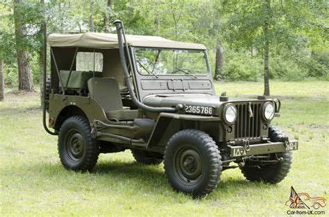 wwii jeep willys willys jeep military m38