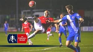 Salford City 1-1 Hartlepool - Emirates FA Cup 2015/16 (R2 ...