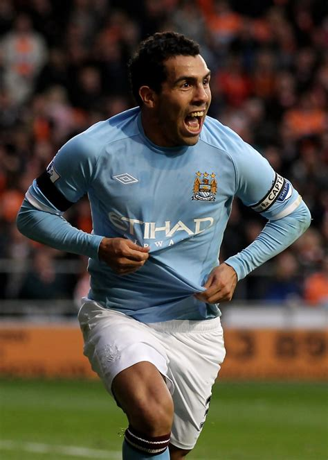 Carlos tevez played for two seasons before he signed for manchester city in a controversial manner in the summer of 2009. Carlos Tevez - Carlos Tevez Photos - Blackpool v Manchester City - Premier League - Zimbio