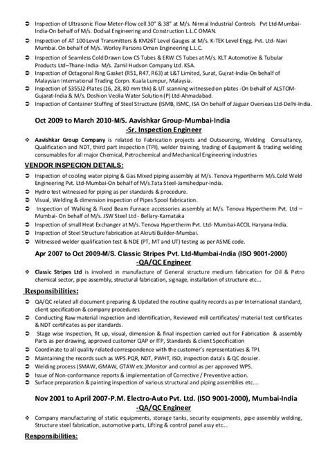 and safety inspector cover letter welding inspector resume safety inspector cv
