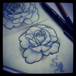 neo traditional rose - Pesquisa Google | flor | Pinterest ...