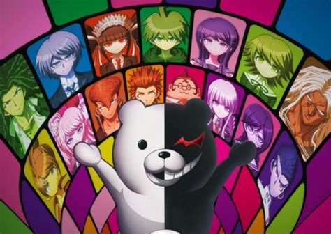 Danganronpa The Animation Wallpaper - top 10 psycho anime list best recommendations