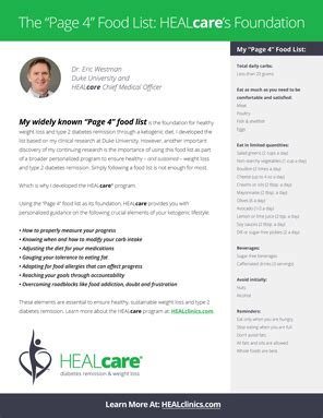 dr eric westman official page  healcare