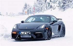 Porsche 718 Cayman Occasion : 2019 porsche 718 cayman gt4 spied testing with old gt4 sounds different autoevolution ~ Gottalentnigeria.com Avis de Voitures