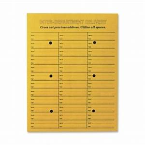 quality park brown kraft string button box style With interoffice mail envelope template