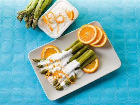 mousseline cuisine recette asperges vertes en mousseline à l orange