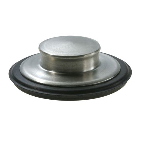 kitchen sink stopper that works garbage disposal air switch in brushed stainless i5580 bs 8547