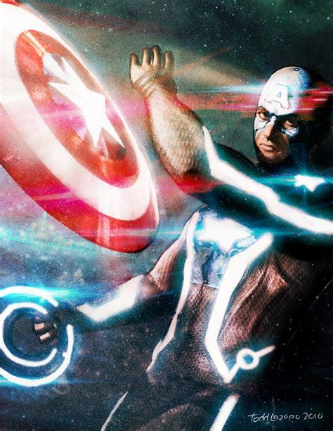 TRON Inspired Marvel Fan Art 3 - Gallery   eBaum's World