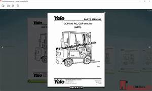Yale Forklift Trucks Complete Set Parts Book Pdf