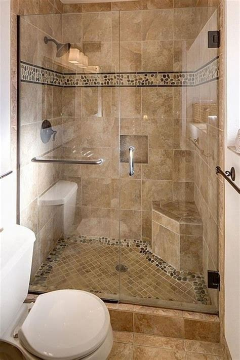 shower stalls  small bathroom  seat shower stalls