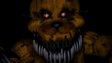 nightmare fredbear  ultimate custom night wiki fandom