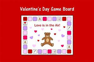 Valentine's Day Game Board | Speech Therapy Ideas