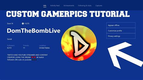 "Xbox beta app for windows 10 now lets anyone upload custom gamer. Xbox One Custom Gamerpics - ""How to upload a custom ..."