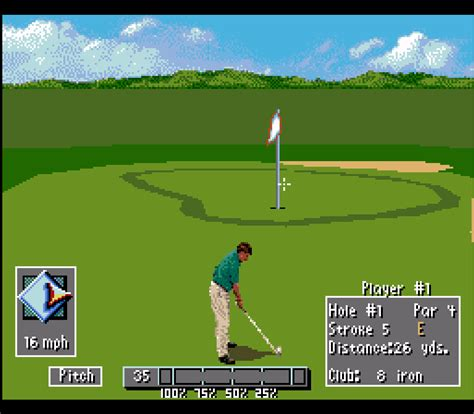 Pga Tour 96 Screenshots