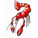 Crawfish Clipart Clip Lobster Crayfish Crustaceans Cartoon