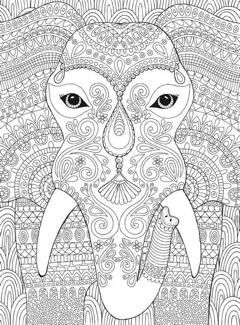 elephant coloring puzzle jigsaw puzzle puzzlewarehousecom