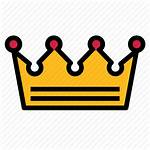 Crown King Empire Icon 512px Outline