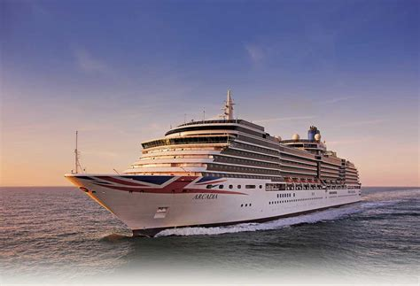 Arcadia Cruise Ship - P&O Cruises exclusively for adults Ship