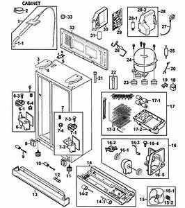 Samsung Side By Refrigerator Parts