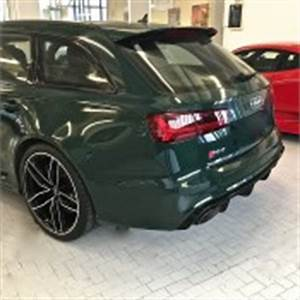 Eye Candy: Goodwood Green Audi RS6 Exclusive