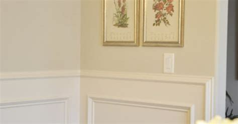 Wainscoting On Walls With Rounded Corners.