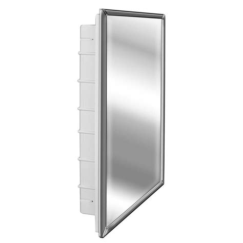 3 door medicine cabinets with mirrors glacier bay spacecab 16 in x 26 in x 3 1 2 in framed