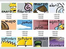 Calendario de los Simpsons 2011