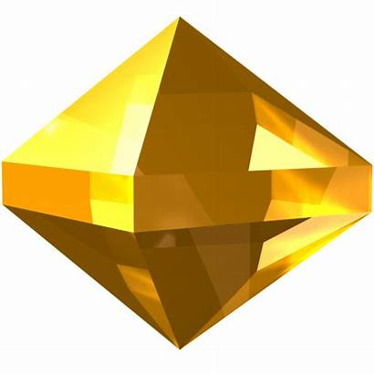 Crystal Icons Zircon Gem Yellow Icon Jewel