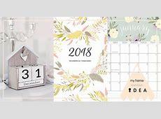 ปฏิทิน 2018 [ปฏิทิน 2561] ฟรีเทมเพลต New Year Calendar