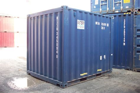 10ft Ex Hire Fleet  Shipping Containers For Sale
