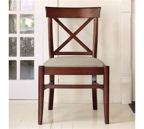 Pottery Barn Aaron Chair Espresso by Aaron Upholstered Chair Pottery Barn