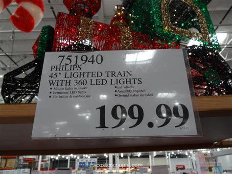 philips led lighted train engine