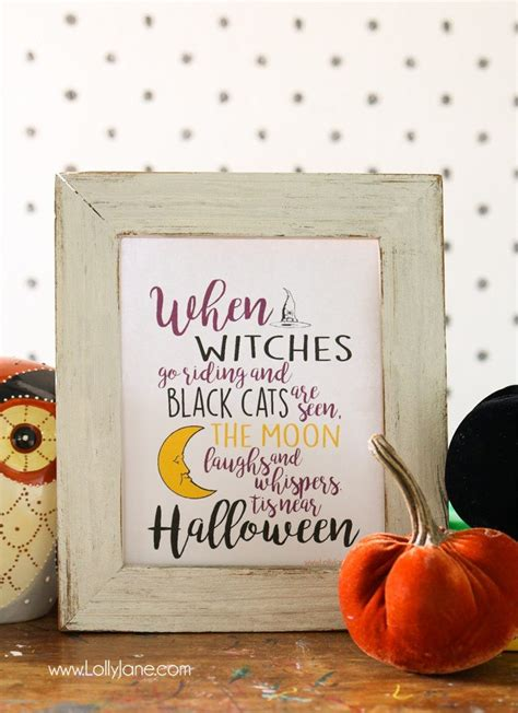 witches  riding halloween printable