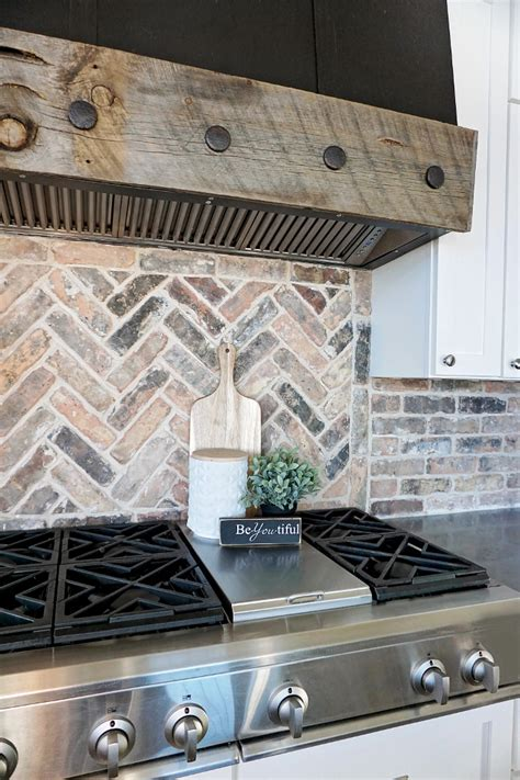 herringbone backsplash kitchen beautiful homes of instagram home bunch interior design 1606