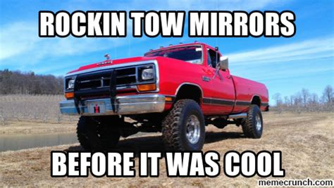 Towing Memes - tow mirrors