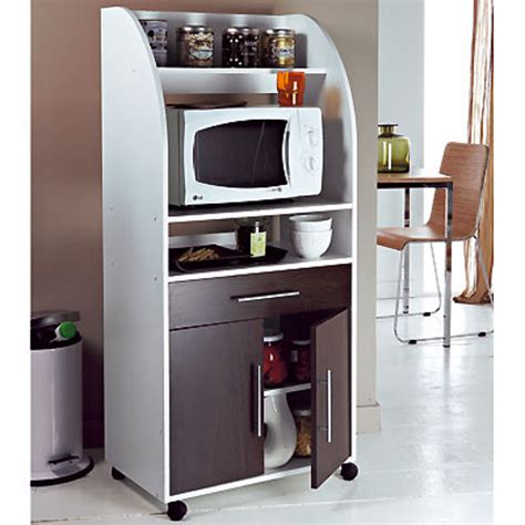 meuble de cuisine pour micro ondes meuble micro ondes 2 portes 1 tiroir ciboulette blanc wengé frais de traitement de commande