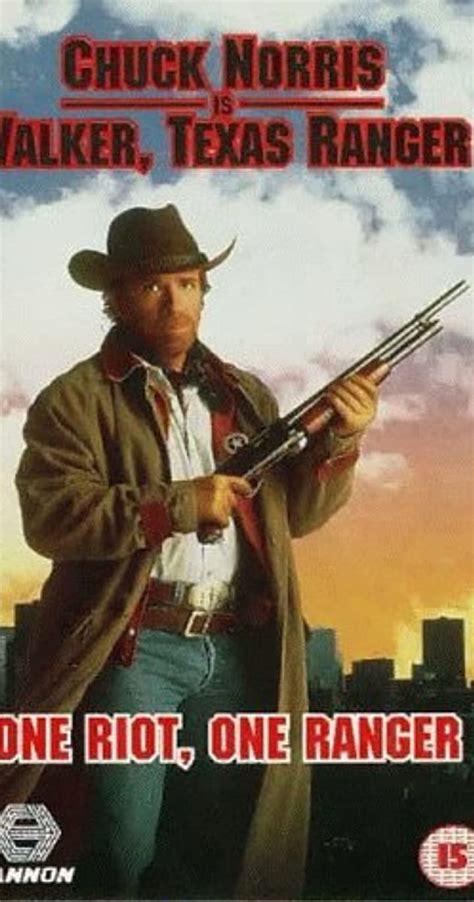 ranger walker texas riot cast tv episode crew 1993