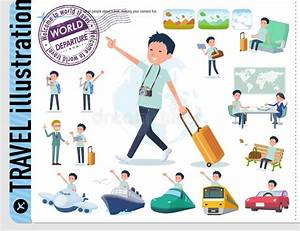 Chiropractor Vector Illustration Collection Set  Doctor