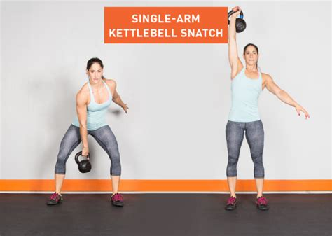 kettlebell exercises arm snatch single ass exercise greatist kick workout kettle workouts bell fitness row overhead power training lower legs