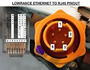 Making A Lowrance    Simrad Ethernet Cable - The Hull Truth
