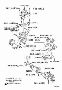 2005 Toyota Prius Bracket  Engine Moun  Block