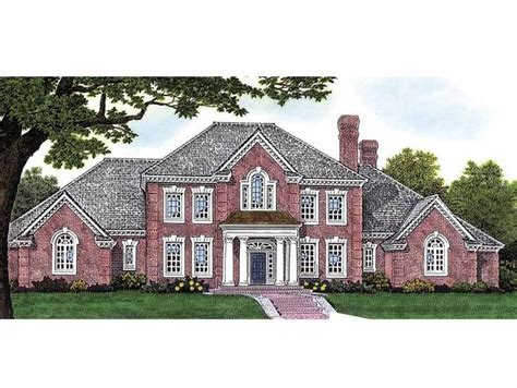 Federal House Plans by Eplans Adam Federal House Plan Four Bedroom Adam