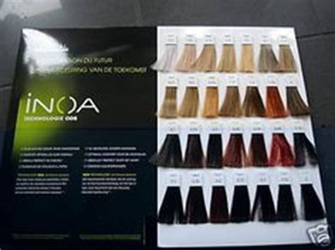 inoa supreme colour chart l or 233 al professionnel inoa supreme with ods2 color chart