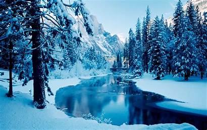 Winter Desktop Background Scenes Scenery Nature Backgrounds